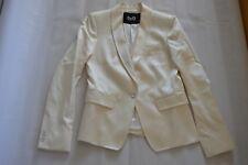 Dolce & Gabbana Silk Blend Button Up Jacket Smart Work Blazer Womens IT 40 UK 8
