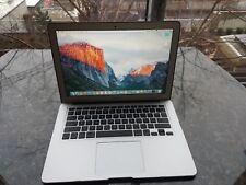 "MacBook Air 13-inch laptopIntel core i5 Processor, 4GB RAM, 128 GB SSD, 13.3"""