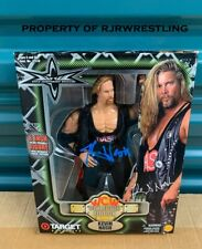 "RARE KEVIN NASH SIGNED WCW COLLECTOR EDITION TARGET EXCLUSIVE 8"" FIGURE WWE nWo"