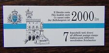 San Marino 1992 Tourism Booklet MNH