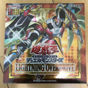 Yu-Gi-Oh! OCG Duel Monsters LIGHTNING OVERDRIVE BOX First Press Limited Edition