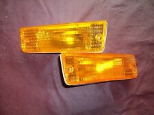 New 1989 1994 Dodge Shadow Front Park Turn Light lamp Right Left Pair