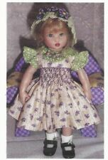 "Sewing Pattern fits 7.5"" doll  Riley Kish Tiny Betsy elf Lati Yellow dolls BJD"