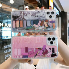 Quicksand Capinha For iPhone 11 Pro XR 6 7 8 SE 2020 Dynamic Liquid Makeup Icons