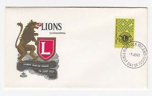NORFOLK ISLAND 1967 50th. Anniversary of Lions Club First Day Cover SG 91 (2)