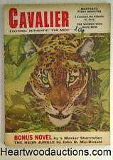 Cavalier Dec 1955 John D.  McDonald -the Neon Jungle, Sophia Loren (1 pg); Gina