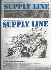 1995-1999 Military Vehicle Preservation Association Supply Line 16 Issues