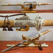 """New HIGH QUALITY CHINESE SWORD """"Tang Dao""""(唐刀) FOLDED STEEL BLADE Real Full Tang"""