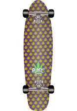 "Blast Mary Jane Skateboard Complete Weed Cruiser 8.25"""