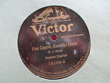 Victor 16104 Hayden Quartet + Victor Drum Fife Bugle Corp Dixie 78 RPM