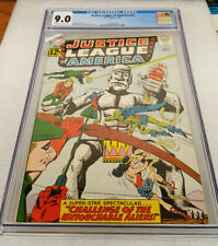 JUSTICE LEAGUE OF AMERICA #15 !!!CGC 9.0!!! SEKOWSKY & ANDERSON COVER  DC 1962
