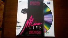 """Mina Live LD 12"""" ITALY HA.OP.24.01 PAL Very Rare SEALED"""