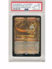 2016 Magic the Gathering Sword of Fire and Ice Kaladesh Invention Foil PSA 10