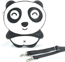 Sleepyville Critters Smiley Panda Bear Body Shoulder Bag Handbag Purse