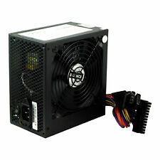 Black 500W 12CM Silent Fan PC Power Supply ATX Computer PSU 500 Watt 24-PIN SATA