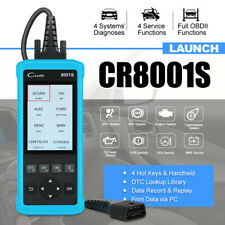 LAUNCH Creader CR8001S Full OBDII Support 4 Systems Scan Tool Oil/EPB/SAS/BMS