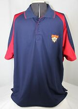 Cooperstown Dreams Park Polo Shirt Authentic Blue Red Short Sleeve Men Large