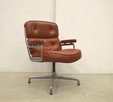 Herman Miller ES108 Lobby Chair Office Chair Cognac EAMES SWIVEL CHAIR Leather