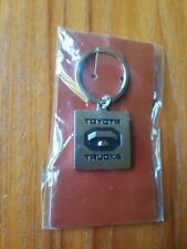New Toyota Trucks Logo Metal Key Chain Keychain Keyring NIP Square