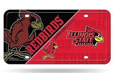Illinois State Redbirds NSD400502 Metal Aluminum License Plate Tag University of