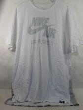 NIKE AIR FORCE WHITE T-SHIRT, 806968-100, *SIZE XL
