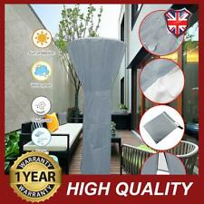TJFU Grey Outdoor Heater Cover Patio Anti UV Snow Storage Weatherproof Protector