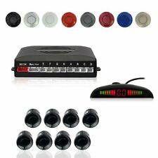 Car Vehicle Backup LED Radar System 8 Parking Sensors Front Rear Park Assistance