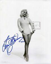 "Mamie Van Doren American actress & sex symbol Signed 8""x 10"" B&W PHOTO REPRINT"