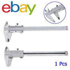 "6""/ 0-150mm Stainless Steel Vernier Caliper Gauge Micrometer Measuring Tool PBX"