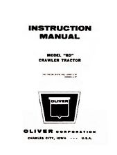 Oliver BD Crawler Tractor Service Operators Manual OL