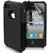 Shock Proof Dual Executive Armor Shock Proof Case Cover Skin For iPhone 4 / 4s