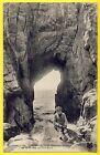 cpa Bretagne 56 - QUIBERON (Morbihan) ARCHE de la GROTTE de PORT BARA Animé