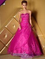 ♥Gr. 34,36,38,40,42,44,46,48,50,52 oder 54 Abendkleid Ballkleid Brautkleid+E481♥