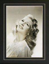 Autograph Rita Hayworth Gilda femme fatale Signed Photo Repro