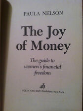 The Joy of Money by Paula Nelson (hardcover) store#2389