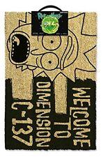 Rick et Morty Dimension C-137 Noir anti - Dérapant Intérieur Extérieur