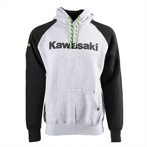 Kawasaki Standard Officially Licensed Pullover Hoody Hoodie by Factory Effex