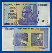 Zimbabwe P-85 10 Billion Year 2008 Circulated Banknote Africa