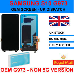 OEM OLED Display LCD Touch Screen Digitizer For Samsung Galaxy S10 G973 UK 4G