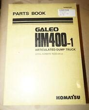 2002 Komatsu HM400 Articulated Dump Truck Parts Book Manual P/N PEPB076303
