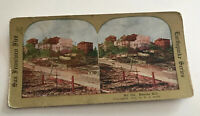San Francisco Earthquake StereoView Card 1906 No. 316 Russian Hill W S Smith