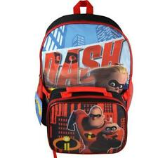 """Incredibles 2 16"""" Backpack With Lunch Bag"""