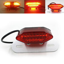 14LED Motorcycle Brake Rear Tail light Turn Signal License Plate Lamp Universal