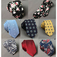 fashion Slim  Men's Necktie Tie Wedding Classic Jacquard Woven Solid Color Plain