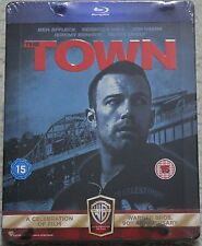 The Town ~UK Zavvi Blu-Ray Steelbook~ Ben Affleck / Jeremy Renner *NEW* OOP