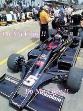 Mario Andretti JPS Lotus 78 Brazilian Grand Prix 1978 Photograph 2