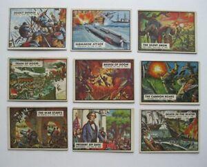 Civil War News Cards- 1962 Topps- Lot Of 9- Nice Cards