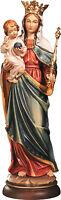 Statua Regina Cieli- Legno- Woodcarving Our Lady Queen Of Heaven
