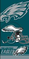 Philadelphia Eagles Beach Towel 28x58 NFL Eagles Towel