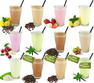 Molke-Drink Probierset 12 Sorten - Molkepulver , Trinkmolke, Süßmolke, Molkekur
